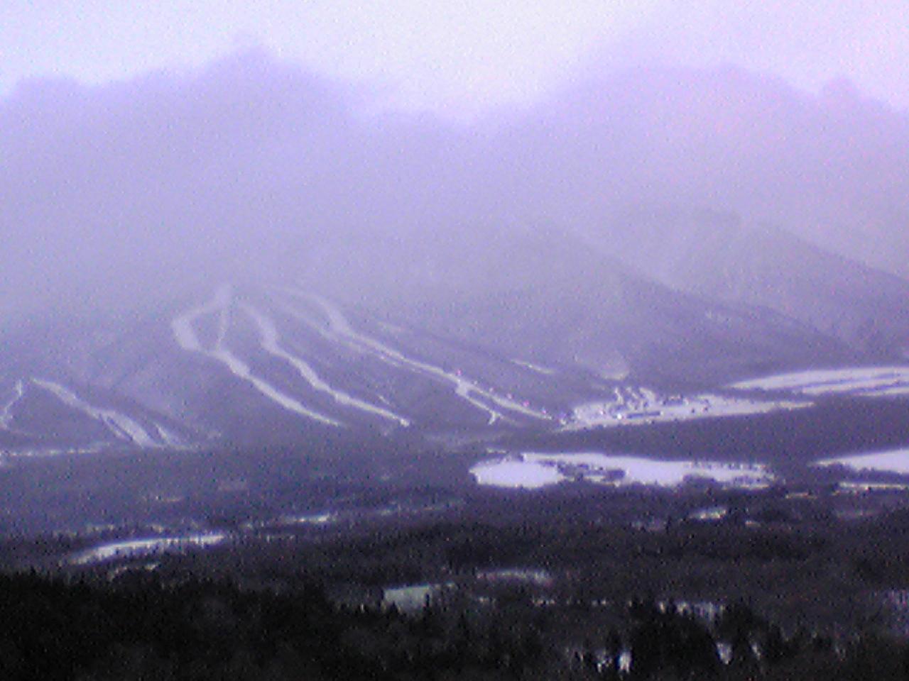 雫石スキー場より