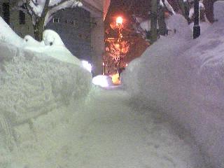横手は大雪
