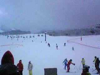 田沢湖スキー場で遊ぶ