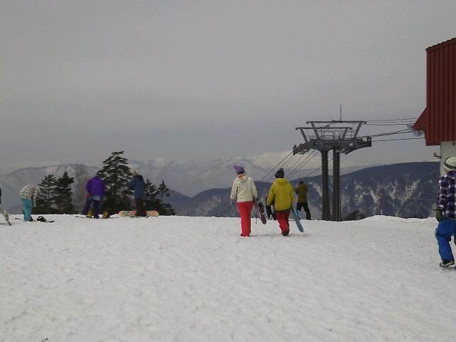 丸沼高原で春スキー