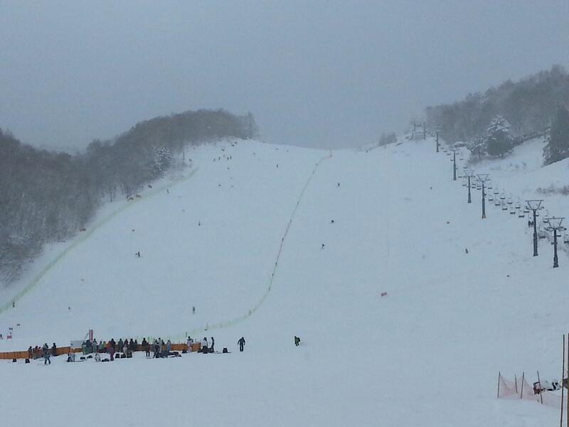 スキー疲れを癒す温泉